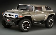 HX concept by Hummer. It was supposed to be their Jeep killer and then they went teets up.