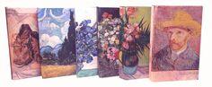 6 libretas de Van Gogh