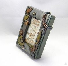 Steampunk Picture Frame/Industiral Picture Frame