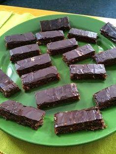 Paleo házi sportszelet ~ Éhezésmentes Karcsúság Szafival Gluten Free Recipes, Healthy Recipes, Choco Chocolate, Healthy Sweets, Dessert Recipes, Desserts, Food To Make, Food And Drink, Snacks