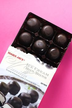 Trader Joe's Vanilla Ice Cream Bon Bons review #traderjoes Best Trader Joes Products, My Favorite Food, Favorite Recipes, Trader Joe's, Calorie Counting, Vanilla Ice Cream, Chocolate Desserts, Allergies, Sweet Treats
