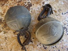 Pair of Russian Horse Sleigh Bronze Bells by AspenMountainVintage, $225.00