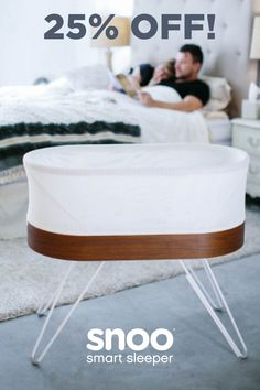 Get more hours of sleep with SNOO smart bassinet. Created by Dr. Harvey Karp, author of Happiest Baby on the Block, SNOO automatically responds to soothe your baby with gradually stronger levels of white noise and motion. Best Bassinet, The Block, Help Baby Sleep, Sleep Solutions, Pregnancy Health, Small Baby, Happy Baby, Happy Fathers Day, Baby Gear
