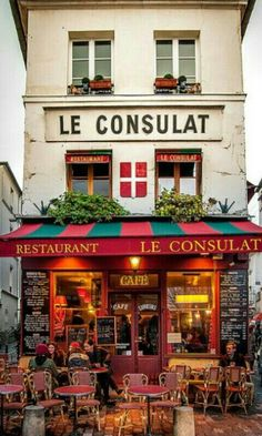 París Rest. Le Consulat