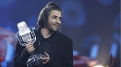 Salvador Sobral wins with a love ballad sung in Portuguese, with Bulgaria coming second.