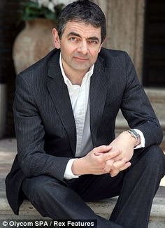 Great picture of Rowan Atkinson