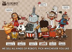 FU ROBOT, which one is your favorite? designed by a friend :) Which One Are You, Robots, Graphic Illustration, Make Me Smile, Vector Art, The Man, Your Favorite, Graphic Design, Thoughts