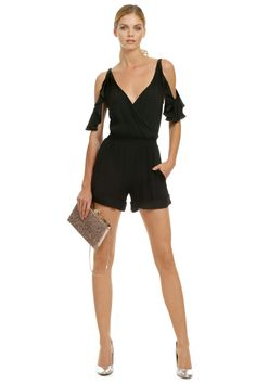 Twelfth Street by Cynthia Vincent Back in Action Romper rent the runway with #Beyonce!