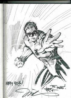 Hal Jordan Green Lantern by Jim Lee Comic Art