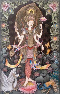 79saraswatig 10601609 divine hindu deities pinterest west papua tibetan art india art indonesian art asian art art designs bali indonesia art photography indian gods hinduism culture illustrations fandeluxe Images