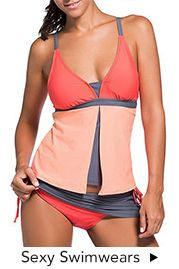 Navy Blue Open Back Tankini Set on sale only US$31.14 now, buy cheap Navy Blue Open Back Tankini Set at lulugal.com