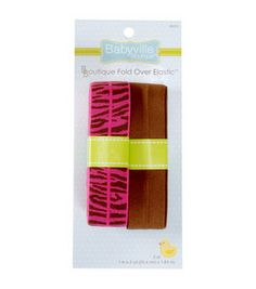 Babyville Zebra Brown Fold Over Elastic $6.99 Online Craft Store, Craft Stores, Zebra Party, Sassy Girl, Diaper Covers, Baby Sewing, Headbands, I Shop, Craft Projects