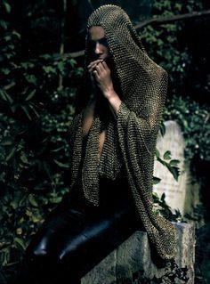 """Alexander McQueen """"La pucelle"""" photographed by Sølve Sundsbø for Numéro #87"""