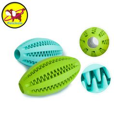 New Pet Dog Toy Petcircle 2017 Rubber Ball Pet Puppy Tooth Cleaning Chew Toys  For Small And Large Dogs 11cm  #Affiliate