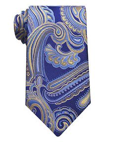 Gorgeous blue paisley tie.