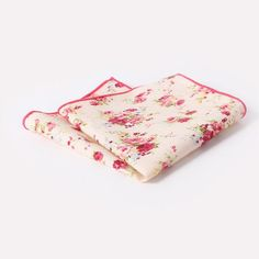 Handmade Mens Suits Pocket Square Floral Cotton Hankies Man Wedding Casual Suit Pockets Hanky 25*25cm Fashion Handkerchiefs