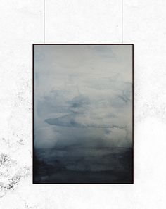 Blue Waters is inspired by the beautiful northern nature and painted in cold, dusty blues with an simple but evocative expression. Available in 4...