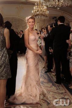 Serena at Blair's Wedding