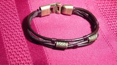 Unisex Braided Leather Bracelet  New  Never Worn  Very