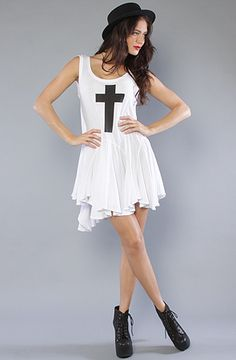 The Simple Cross Poolside Dress by Wildfox at karmaloop.com