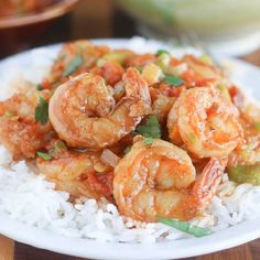 Coconut milk Shrimp Stew- Easy, Spicy and Loaded with flavor. A tasty ...