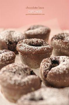 CHocolate Lava Cupcakes