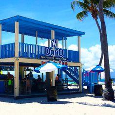 Don Q rum bar at Palomino Island at El Conquistador Resort in Fajardo Puerto Rico. elconresort.com