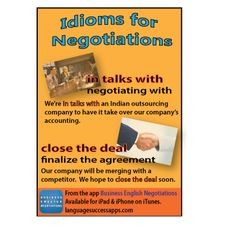 Two idioms to help in your #BusinessEnglish negotiations