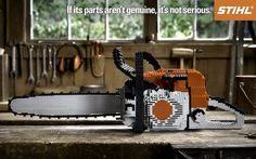 #lege chainsaw - #stihl advertisement