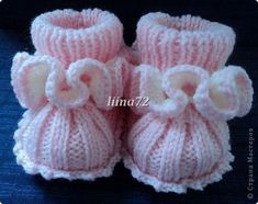 Discover thousands of images about Baby Knitting Patterns Free Crochet Baby Booties Patterns - Crochet Baby Shoes. Knitted Baby Clothes, Booties Crochet, Crochet Baby Shoes, Crochet Baby Booties, Crochet Slippers, Baby Knitting Patterns, Knitting For Kids, Baby Patterns, Knitting Projects