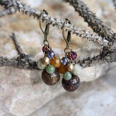 Bronzite dormeuses crochet boucle d'oreille pierres naturelles par ColorMeEarthJewelry sur Etsy https://www.etsy.com/fr/listing/253998882/bronzite-dormeuses-crochet-boucle