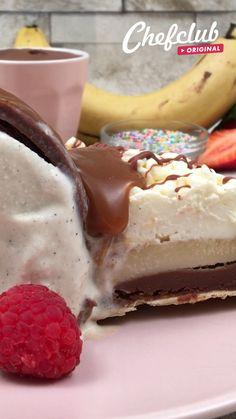 Dessert Cake Recipes, Easy Desserts, Delicious Desserts, Yummy Food, Comida Diy, Buzzfeed Tasty, Desert Recipes, Chocolate Desserts, Diy Food