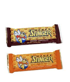 HONEY STINGER ENERGY BARS - Delicious, healthy energy bars for before or during a workout.