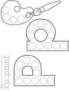 Preschool Art Projects, Preschool Lessons, Preschool Worksheets, Preschool Activities, Preschool Curriculum, Letter P Activities, Alphabet Letter Crafts, Numbers Preschool, Preschool Letters