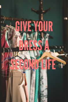 Give your dress a second life! — Major Online Business and Marketing Second Hand Stores, Second Hand Clothes, Second Life, Two Hands, Online Business, Shops, Marketing, Check, Blog