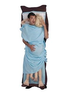 Double Occupancy | Cheap Humorous Halloween Costume for Men