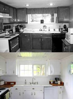 Before and After: Country Kitchen Makeover