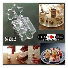 Sandwich in a Stick Maker - Bento Cutter make Lunch Fun for ~ Supe. Japanese Bento Lunch Box, Bento Box Lunch, Sandwich Cutters, Lunch Box Set, Childrens Meals, Cute Bento, Food Picks, Lunch Room, Party Platters