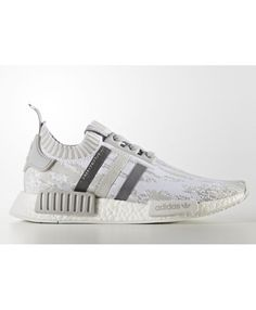 e4de4e5ec349a Adidas NMD Runner PK Grey By9865 Shoes Glitch
