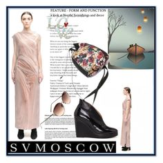 """""""SVMOSCOW #6"""" by damira-dlxv ❤ liked on Polyvore featuring Maison Margiela, ViSSEVASSE and svmoscow"""