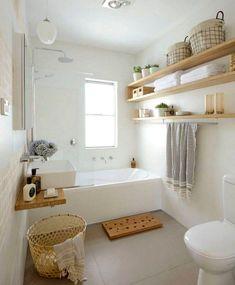 80+ Luxury Small Bathroom Decorating Ideas #bathroomideas #bathroomdesign #bathroomremodel #ModernBathroom