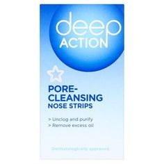 Superdrug Deep Action Pore Cleansing Nose Strips x 4