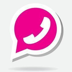 Whatsapp in Pink: Mit diesem Trick änderst du die Farbe deines Logos! Whatsapp in Pink: With this trick you change the color of your logo! Smartphone Hacks, Iphone Hacks, Life Hacks, App Hack, Logo Design, App Logo, New Tricks, Chicago Cubs Logo, Videos Funny