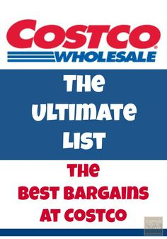 The Best Bargains At Costco | KansasCityMamas.com