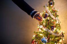 Mini Starbucks Christmas tree. :)