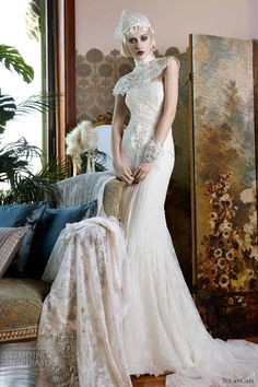 2013 Wedding Trend: Illusion/Lace - Yolan Cris