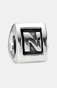 PANDORA Initial Charm available at #Nordstrom