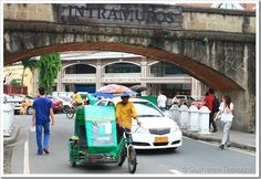 Viajar para Filipinas - Intramuros, a 1ª parada