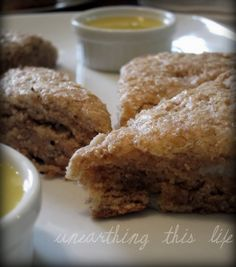 Pear Spice Scones. These sound so good.