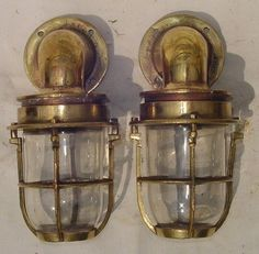 BigShipSalavage.com | Brass Ship Light Nautical Light Nautical Hardware